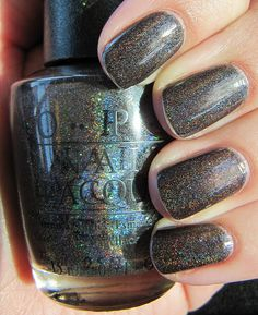 "This color is called ""My Private Jet"" by OPI. Such a random name, but this color is awesome."