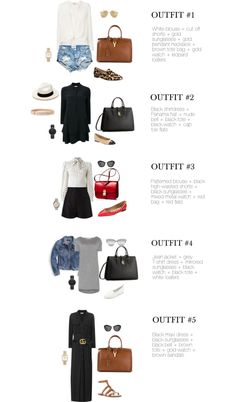 Chic Street Style 10 Chic Wear-Now Summer Outfits #summeroutfit #summertime #howtowear