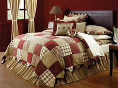 Country and Primitive Bedding, Quilts - Heartland Bedding by Victorian Heart - Country Decor, Primitive Decor, Bedding, Braided Rugs