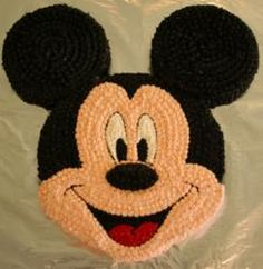 Mickey Mouse Cake idea for my nephew's birthday Disney Parties, Mickey Mouse Parties, Mickey Party, Mickey Mouse Clubhouse Birthday, Mickey Birthday, 3rd Birthday, Birthday Ideas, Cupcakes Mickey, Mickey Cakes