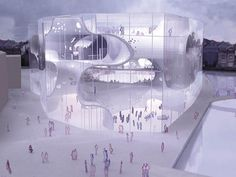 Prechteck: National Library Of Austria Extension | Beta   Research |  Pinterest | Extensions, Architecture And Arch