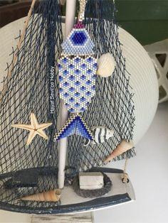 Miyuki, delica, peyote, bracelet, boncuk, bileklik, takı, jewelry, 3D, triangle, üçgen, balık, the fish