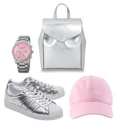 Bez tytułu #32 by ania-idziak on Polyvore featuring moda, adidas Originals, Loeffler Randall and Akribos XXIV