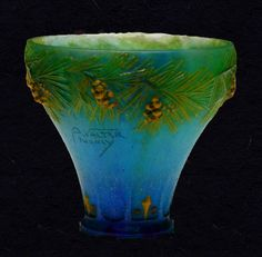 Almeric Walter pressed glass