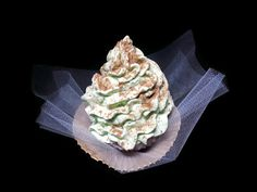 Chocolate Mint Cupcake Soap, Handmade Glycerin and Shea Butter Soap, Gift under 10