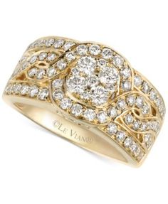 Le Vian Woven Diamond Ring (1-1/4 ct. t.w.) in 14k Gold