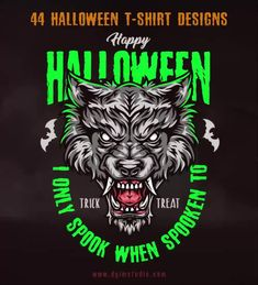 Colorful Halloween 2021 vector design illustrations with editable text. Get ready for your Halloween Party! Download on www.dgimstudio.com.