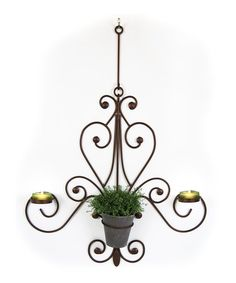 Take a look at this Plastec Bronze Chandelier by Backyard Oasis Boutique on #zulily today!