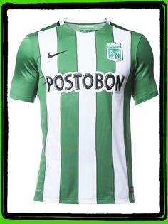 b483d760f512d Camiseta Nike M C Oficial Atlético Nacional 2016