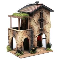 1 million+ Stunning Free Images to Use Anywhere Clay Houses, Miniature Houses, Architectural Sculpture, Hand Painted Textures, Medieval Houses, Mini Fairy Garden, Christmas Nativity Scene, Cardboard Crafts, Miniature Furniture