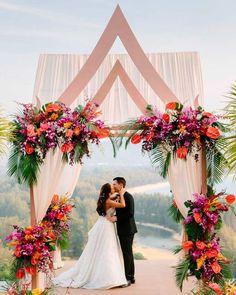 30 Bright Ideas Of Wedding Ceremony Decorations ❤ wedding ceremony decorations flowers gazebo #weddingforward #wedding #bride