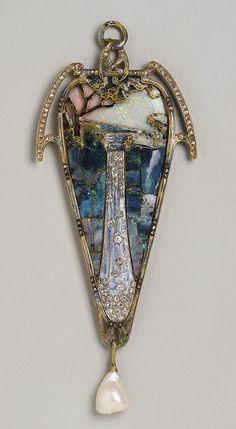 i gioielli dell'art nouveau