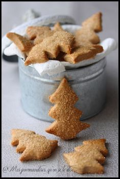 - My delicacies, let it be said . - Alsatian bredeles with cinnamon and brown sugar. Galletas Cookies, Xmas Cookies, Cake Cookies, Chef Recipes, Cookie Recipes, Snack Recipes, Snacks, Christmas Biscuits, Biscuit Cookies