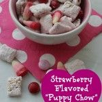 """Strawberry Flavored """"Puppy Chow"""" Treat Mix"""