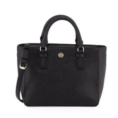 "Black Tory Burch Robinson mini square tote bag Brand new! 100% authentic, will provide receipt upon request. NO TRADE! 11""x 5""x 7.5"" Tory Burch Bags"