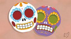 calaveras mexicanas | Tumblr