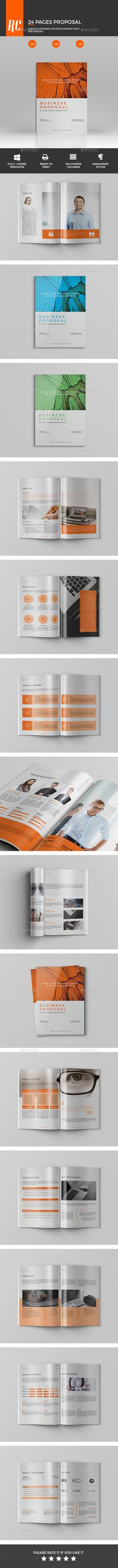Proposal Template #design Download: http://graphicriver.net/item/proposal/12369989?ref=ksioks