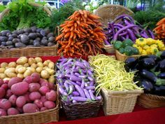 If you are in #PanamaCity #Florida you should stop by the Grand Lagoon Waterfront Farmers Market this weekend. Look at these beautiful colors!