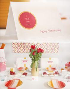 Mother's day brunch printable card #mothersday #brunchideas