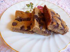 Sour Cream Chocolate Chip Bars