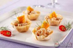 Receita de Tulipa de camarão com manga em receitas de salgados, veja essa e outras receitas aqui!