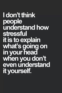 I don't think people fully understand