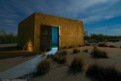 Dallas photographer snaps deserted US military sites | Daily Mail Online