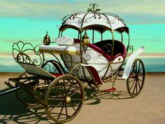 Horse Drawn Carriage Arrival of the Bride :) princess fairy tale Horse Wagon, Horse Cart, Horse Drawn Wagon, Wedding Carriage, Horse Wedding, Cinderella Carriage, Cinderella Coach, Wooden Wagon, Pumpkin Carriage