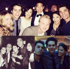 The Maze Runner cast at Ki Hong Lee's wedding