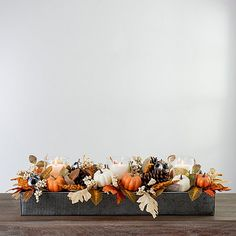 Pinecone Centerpiece, Peonies Centerpiece, Fall Table Centerpieces, Flower Centerpieces, Fall Decorations, Diy Arts And Crafts, Fall Crafts, Dusty Miller Bouquet, Red Succulents