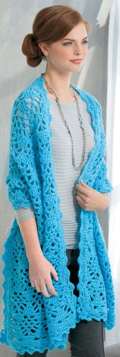 Everyday Shawls - With the variety of styles featured in Everyday Shawls, you can make wraps for every occasion ± for yourself, for gifts, or for prayer shawl ministries. These 9 designs from Judith A. Thompson and Carla Rae Miller all feature patterns that echo from the center, either creating matching ends or matching top and bottom edges. They're all simple to crochet using medium weight yarn, and our bonus on-line technique videos will help you finish with ease. Designs…