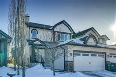 Fully developed 4 bedroom and bathroom home (attached by garage only) on a quiet street and move in ready! Diamond Realty & Associates Ltd. Corner Pantry, Maple Cabinets, Large Family Rooms, Fee Simple, Basement Bedrooms, Selling Real Estate, Private Room, Animal House, Property Listing