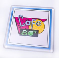 Back to the Future Cafe 80's Coaster by UnofficiallyOriginal