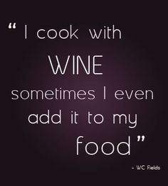 guilty! I love using it for cooking then having an excuse for drinking the rest of the bottle :)