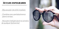 óculos espelhados, acessório essencial para o armário da mulher moderna. Veja óculos lindos da AMARO por preços ótimos, super baratos em SALE