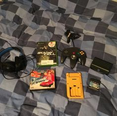 On instagram by benjokazooie #mastersystem #microhobbit (o) http://ift.tt/2cf7bzh's pickups from my friend and play nation in Croydon. A #turtlebeach headset for ps4 road avenger for #megacd a  converter for the #gamegear turbo sub for #atari #lynx. The rear she'll for an original #gameboy a black #nintendo #n64 controller and #splintercell for #xbox so I can softmod my system.