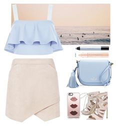 """""""Untitled #420"""" by jovana-p-com ❤ liked on Polyvore featuring Urban Outfitters, BCBGMAXAZRIA, New Look, Carvela, Kate Spade, Casetify and shu uemura"""