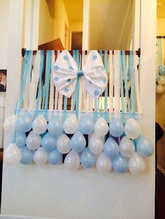 Baby boy baby shower at my home.