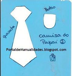 Manualidadesconmishijas: Moldes - Camisas para el día del padre