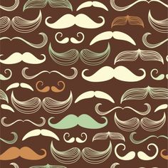 Moustache Wall Decals