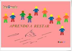 Aprendo a restar. Qué difícil 2 (C.P.R. de Mérida, Badajoz)