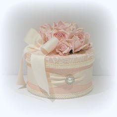 Shabby Chic Decor, Shabby Chic Box, Shabby Cottage Decor, Decorated Box, Wedding Gift Box, Custom Box, Keepsake Box, Jewelry Box