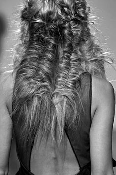NYFW: Hair Inspiration #freepeople #fashion #hair