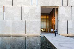 The Barnes Foundation - Tod Williams Billie Tsien Architects by Scott Norsworthy, via Flickr