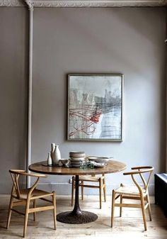 Méchant Studio Blog: beauty out of date dining grey