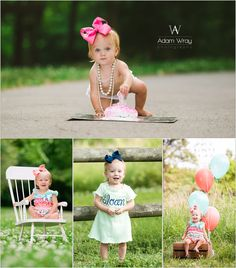 One Year Old Girl Photo Shoot Infant Photography, Old Photography, Birthday Photography, Children Photography, Family Photography, Little Girl Photos, Baby Girl Photos, Baby Pictures, 1st Birthday Pictures