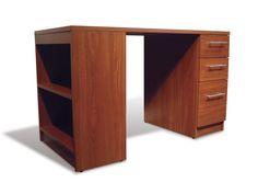 Ideas For Cherry Wood Desk Drawers Diy Wood Floors, Diy Flooring, Cherry Wood Desk, Wood Bar Top, Old Wood Doors, Student Desks, Large Shelves, Study Desk, Wooden Desk