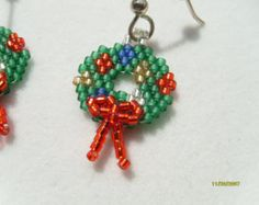 Items similar to Autumn Foliage Trees Hand Beaded Earrings on Etsy Autumn Foliage Trees Hand Beaded Earrings by earthlytreasures Seed Bead Patterns, Jewelry Patterns, Beading Patterns, Loom Beading, Seed Bead Jewelry, Seed Bead Earrings, Beaded Earrings, Beaded Jewelry, Jewellery