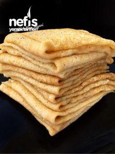 İncecik Krep Tarifi Ve Püf Noktaları Turkish Breakfast, Bon Appetit, Cookie Recipes, Breakfast Recipes, Brunch, Food And Drink, Snacks, Cooking, Ethnic Recipes
