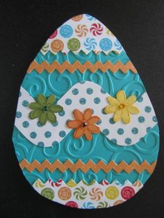 Chris & Nikki's Easter Card by Penny Strawberry - Cards and Paper Crafts at Splitcoaststampers